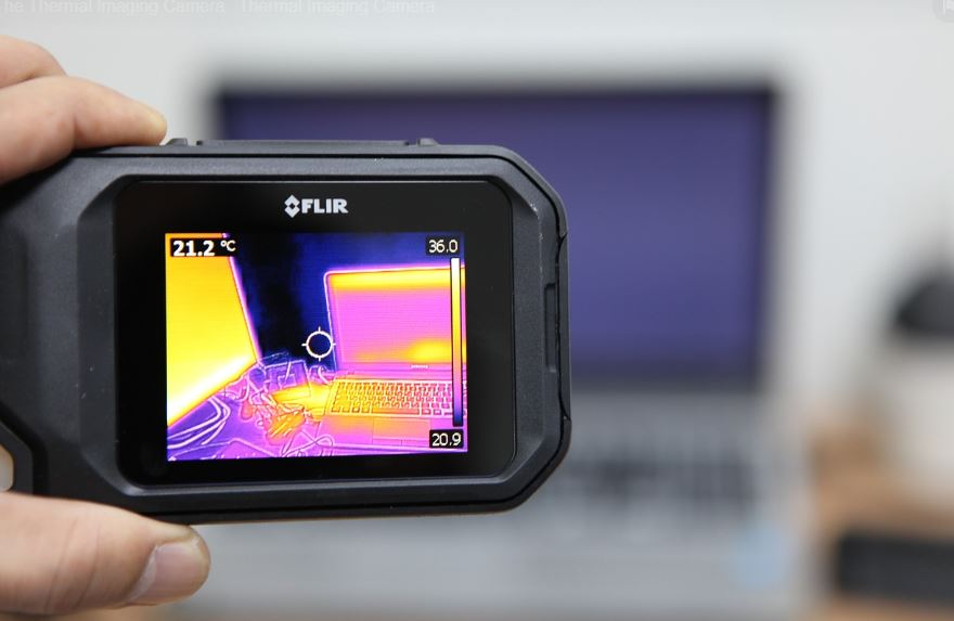 A thermal camera lets you 'see' heat, by picking up thermal radiation. - Image Credit:  withplex via Unsplash