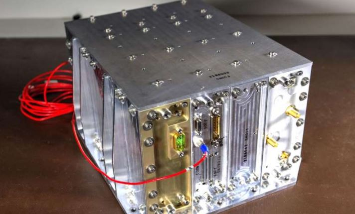 The NavCube could play a vital role in helping to demonstrate X-ray communications in space.- Image Credit: NASA/W. Hrybyk