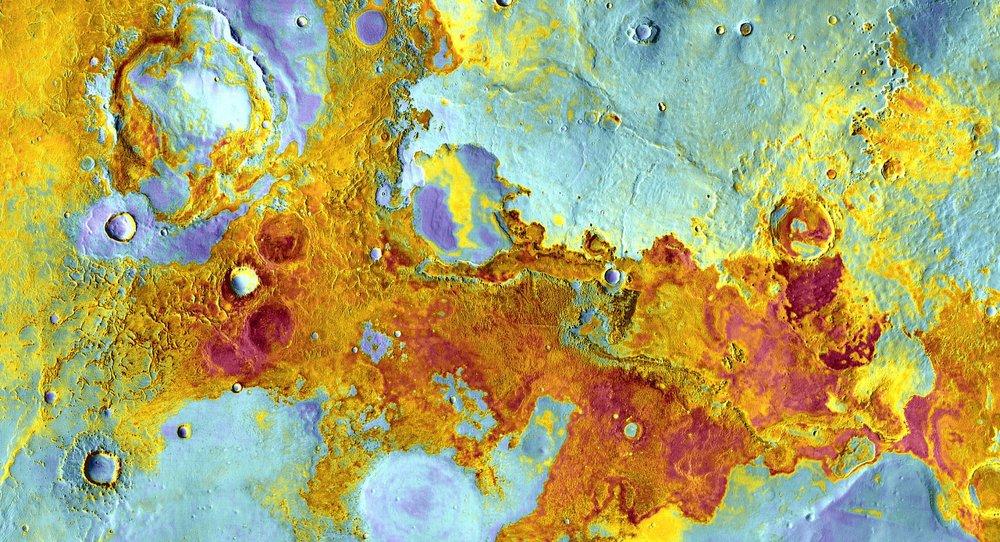 Meridiani Planum on Mars where exploration rover Opportunity landed.- Image Credit:  NASA/JPL-Caltech/Arizona State University