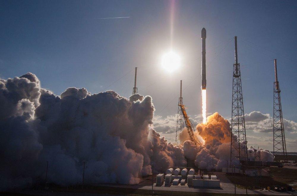 GovSat-1 Mission -  Image Credit: SpaceX via flickr