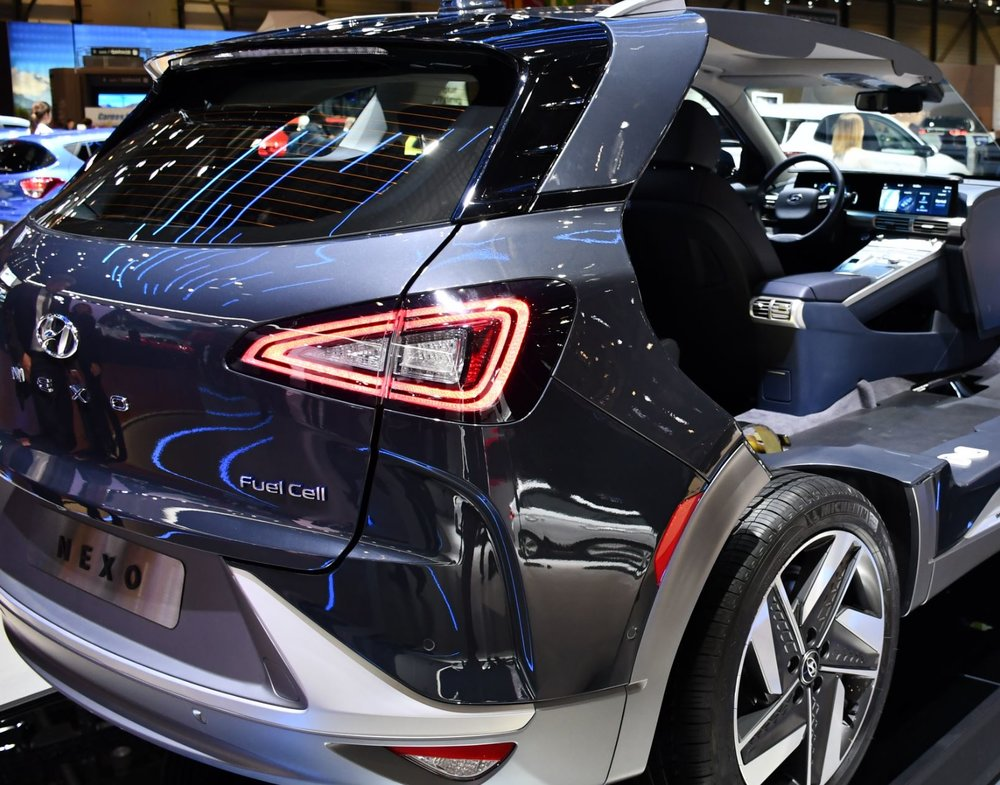 Hydrogen Fuel Cell Car - Image Credit: Dr. Artur Braun via WikimediaCommons