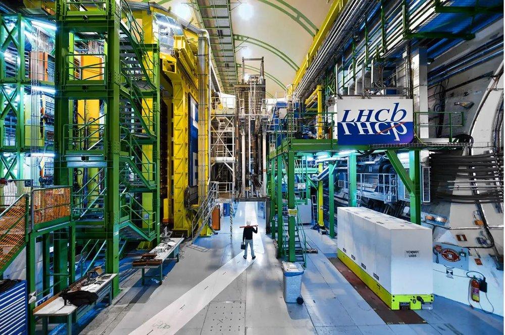 LHCb, below Cern - Image Credit: Maximilien Brice et al./CERN