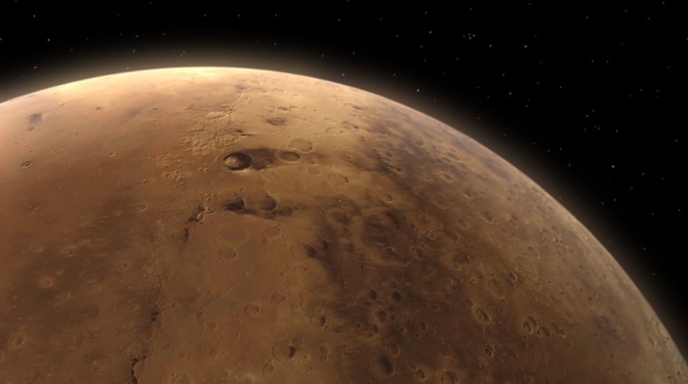 Methane detected at Mars' Gale Crater (the centre picture) - Image Credit:  Kevin Gill via Wikimedia Commons