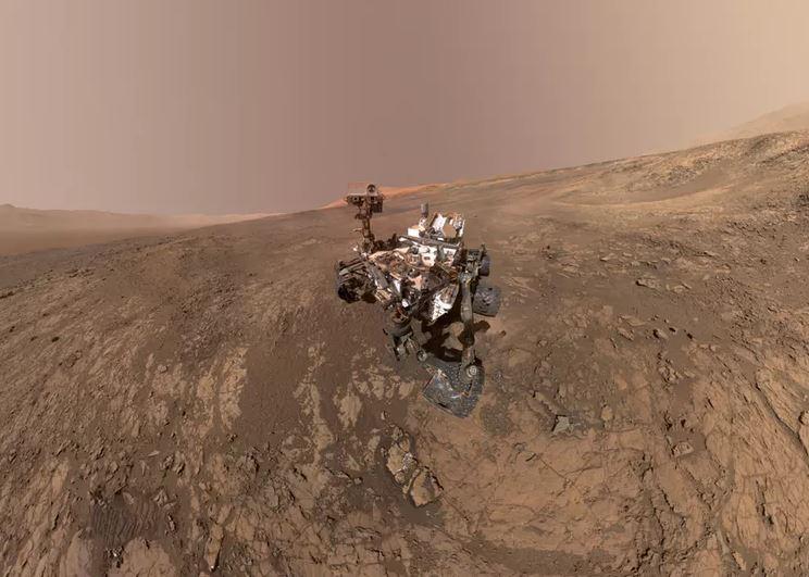 Curiosity at Gale Crater. - Image Credit: NASA/JPL-Caltech/MSSS