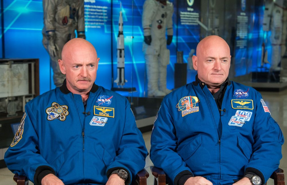 Are space twin Scott and Earth twin Mark no longer identical? - Image Credit:  NASA/Robert Markowitz
