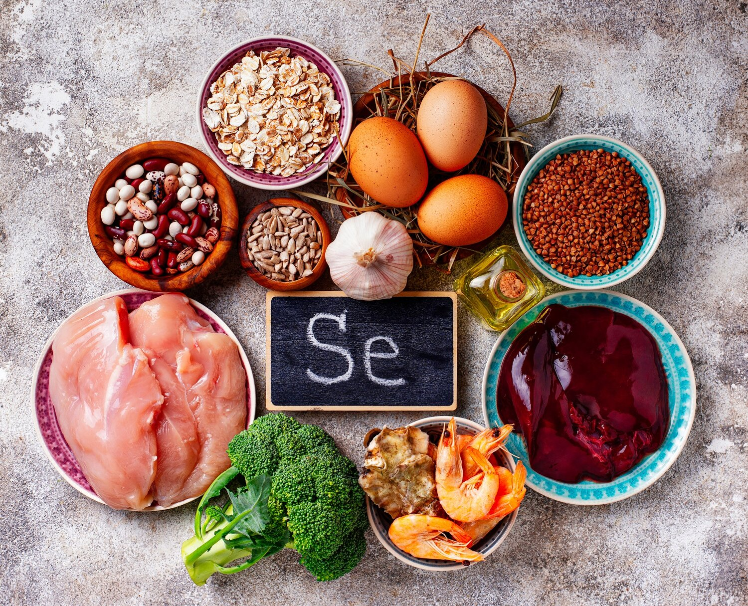 Scientists are investigating whether people with a selenium ...