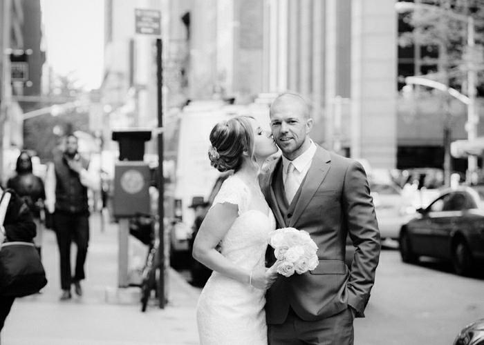NYC intimate wedding by Tanya Isaeva