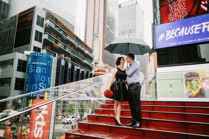 Times Square intimate wedding by Tanya Isaeva photography