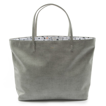 LIGHT GREY TOTE, $150