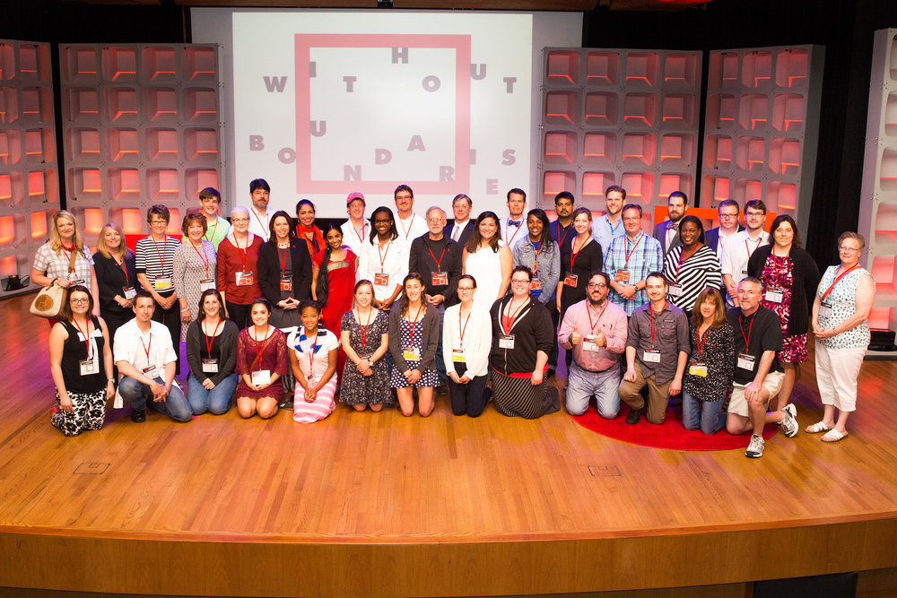 Speakers and VIP attendees of TEDxLancaster 2015