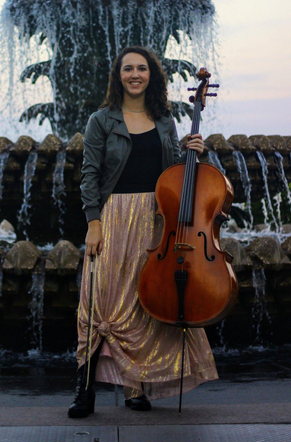 Elizabeth Johnson - Cello
