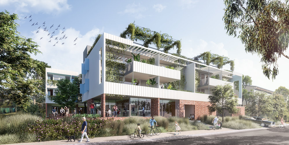 Nightingale Fremantle - a collaboration between Nightingale Housing, EHDO and Fini Sustainability