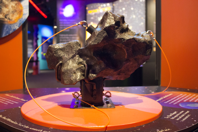 Meteorite Stand -