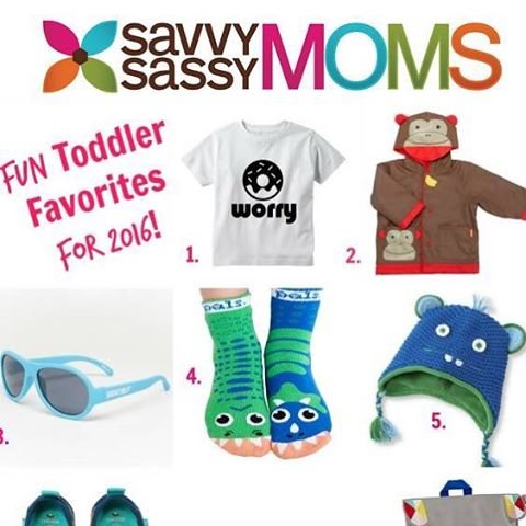 YUS! anchor & adorn's tees were included as @savvysassymoms 'fun toddler favorites' for 2016! so excited!