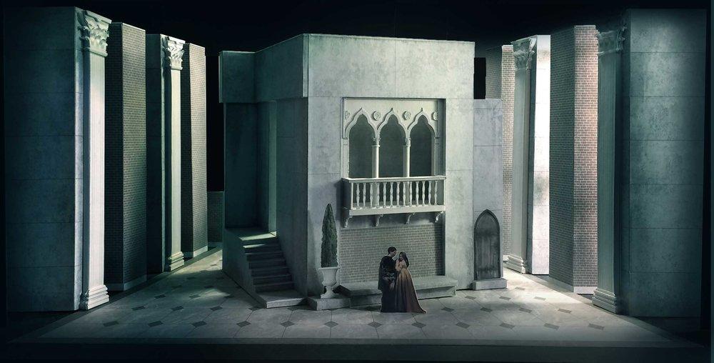 004a  act 1 sc. 2  Rigoletto 's House.jpg