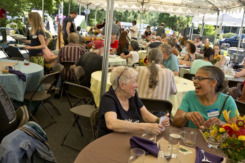 The Annual Meeting of Member-Owners on Saturday was a lively event with great conversation, music, food, and community building.  Thanks to everyone who braved the heat - our co-op is vibrant and alive because of you!