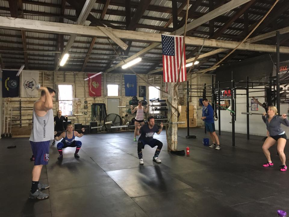 Private session at CrossFit Flora, 2017