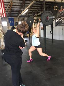 Private personal training at CrossFit Flora