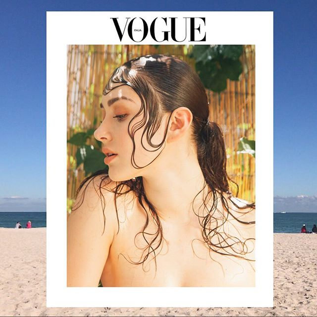 Working with @sachaharford and @sabrina_perlleshi  for @vogueitalia  View story at  http://www.vogue.it/photovogue/portfolio/?id=154617