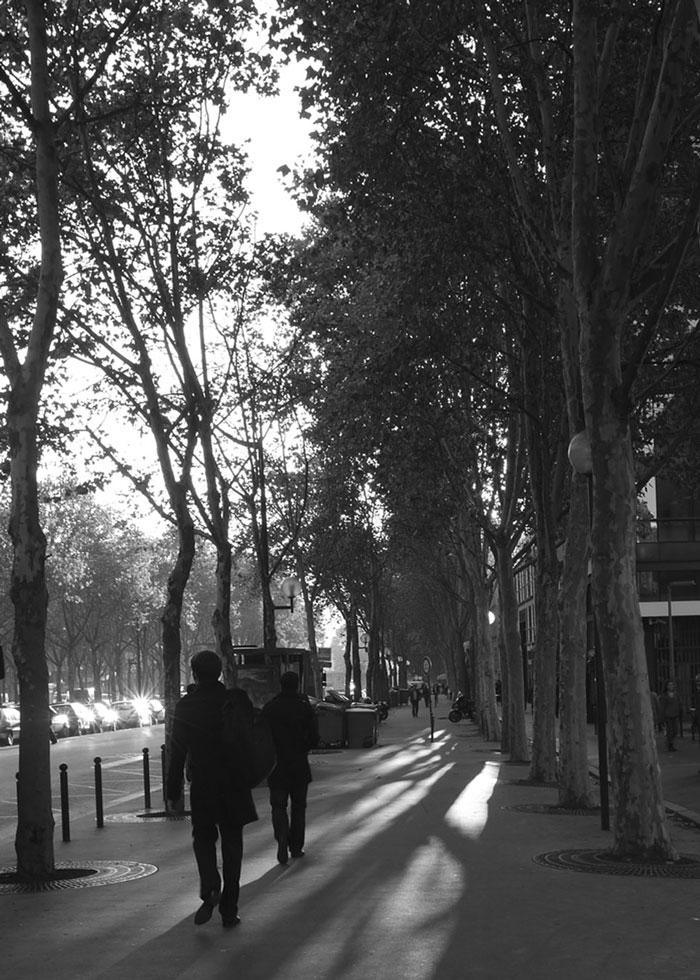 Commute, Paris, France