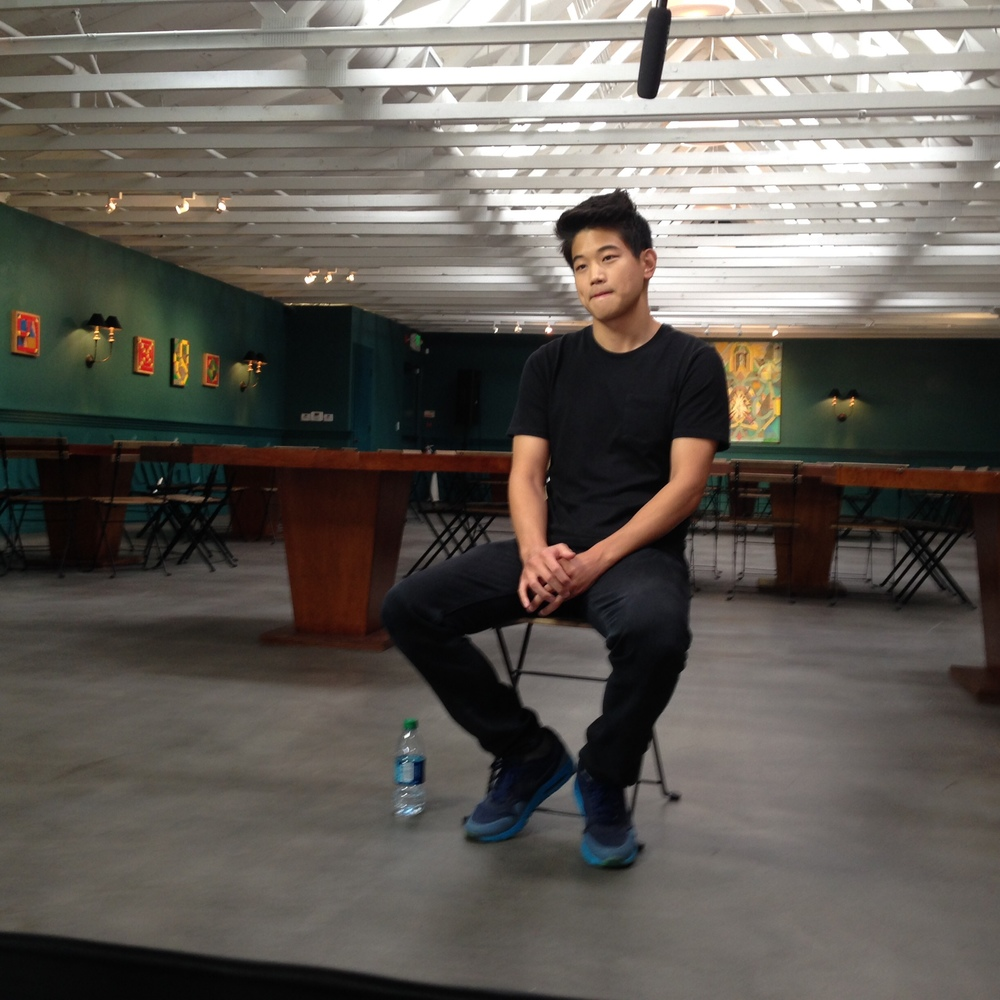 Actor Ki Hong Lee gets the spotlight