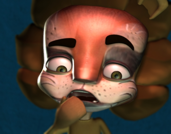 Francis the Lion - 3D Character