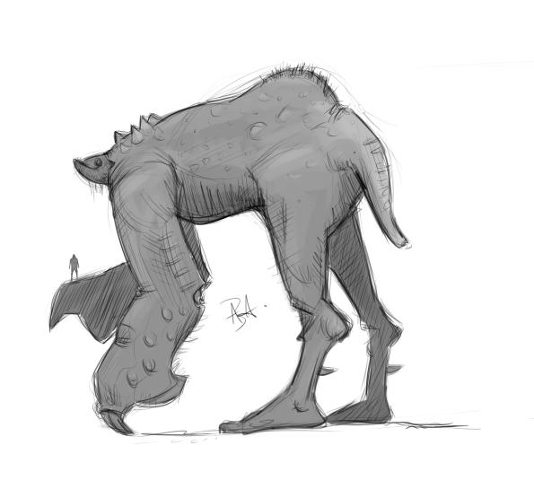GIANT Creature design