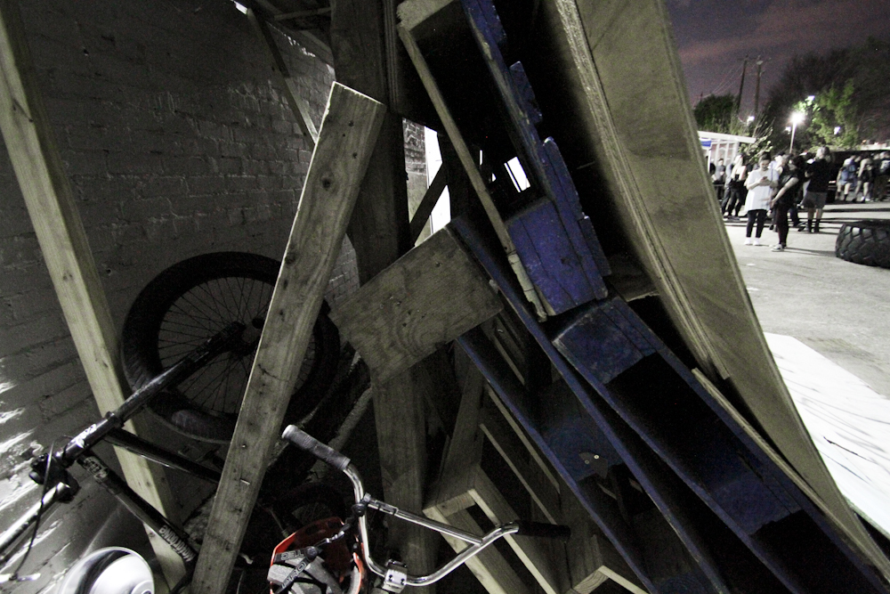 Proper ramp materials.