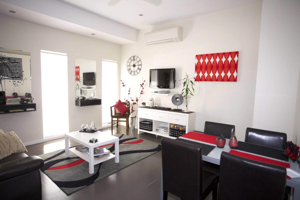 Sunny modern lounge