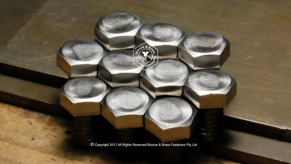 Monel 400 Hex Cap Screws