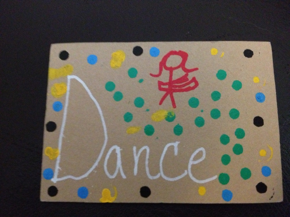 """I absolutely love this fantastic piece of art I found today! Of all the  art in the park, what is the chance that a dancer would find this  piece?! Amazing! Thank you for this wonderful opportunity!"" -  Allegra"