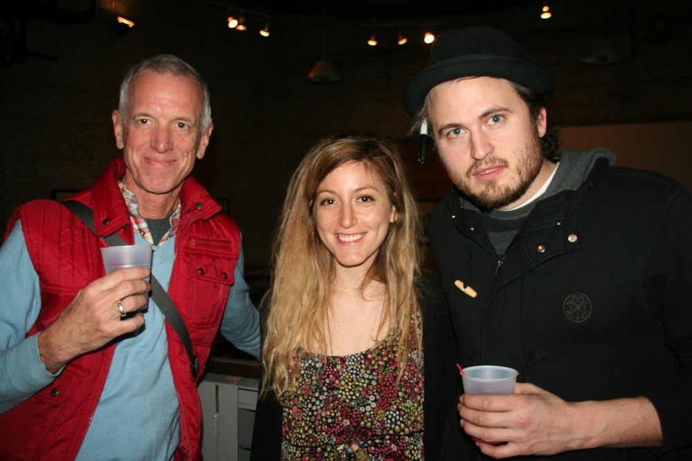 Michael Lachowski (YFF), Allie Bashuk (Scout Mob), Greg Mike (ABV) photo by d.j. bing