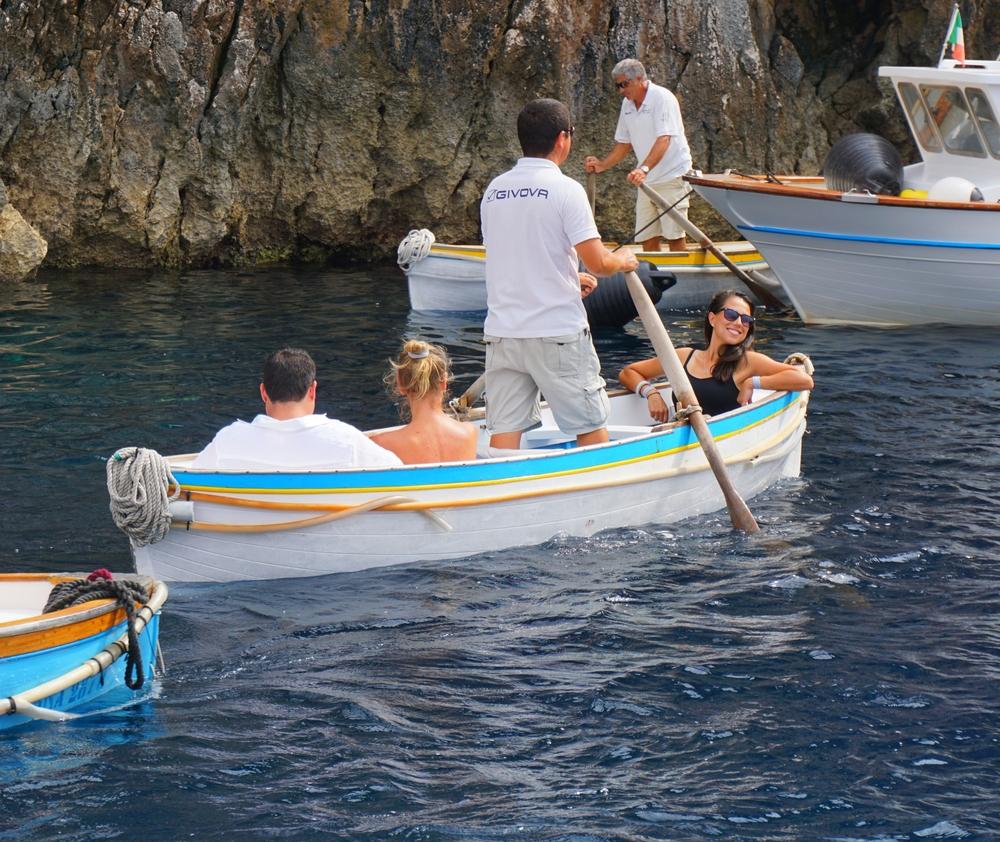 Capri Grottos