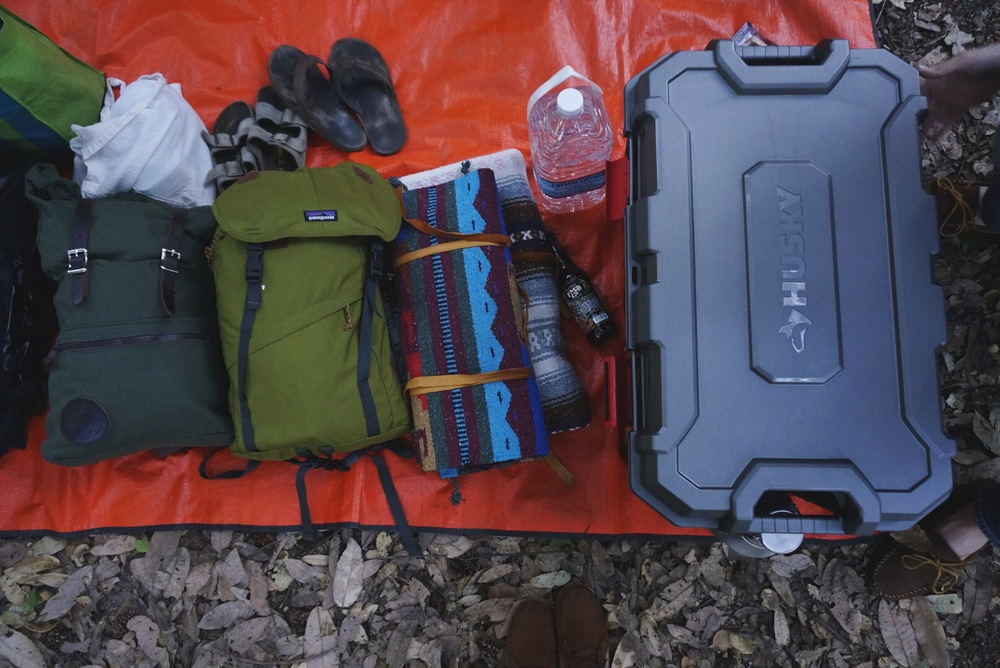 Zach will be doing a post with an updated gear list of our camping essentials!