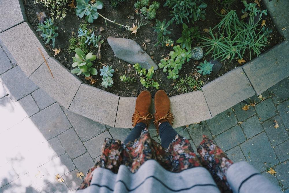 han's feet