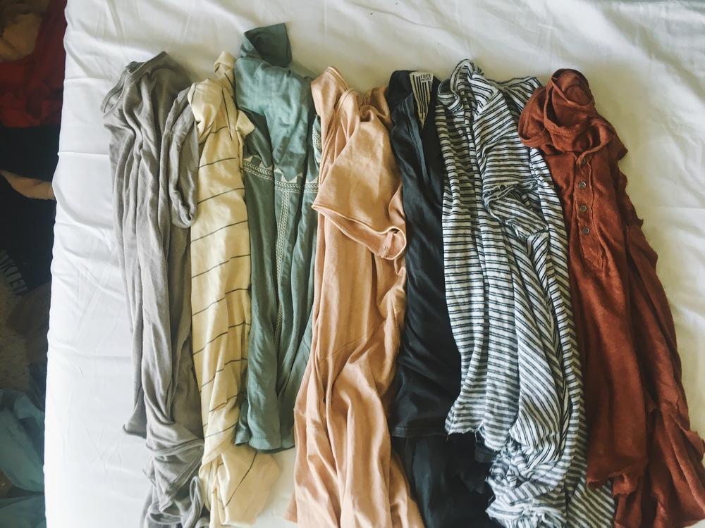 Hanna Way's Capsule Wardrobe