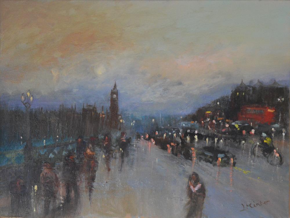 'Westminster Bridge Evening II'