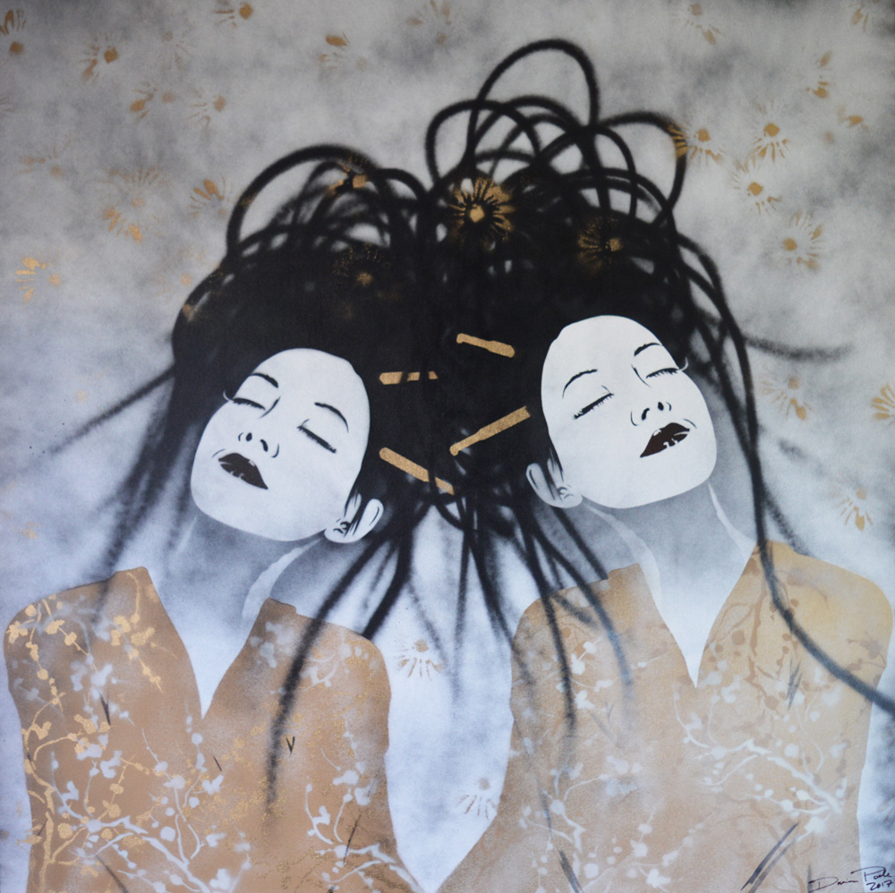 'Dream Geishas'  by Damian Poole