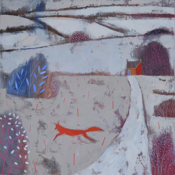 Giuliana Lazzerini 'Snow Fox'  £950.00