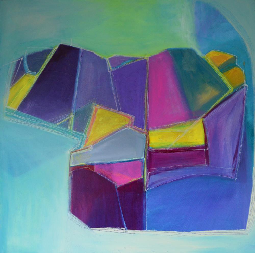 Cheryl Ann Williams 'Valley Variations 6'  £500.00