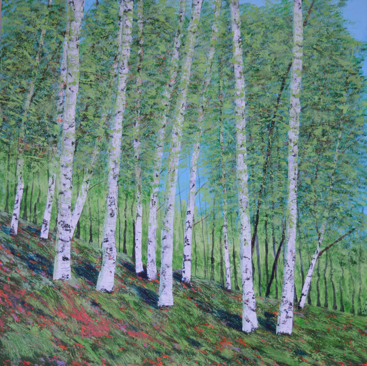Amanda Horvath 'Whispering Trees' £550.00