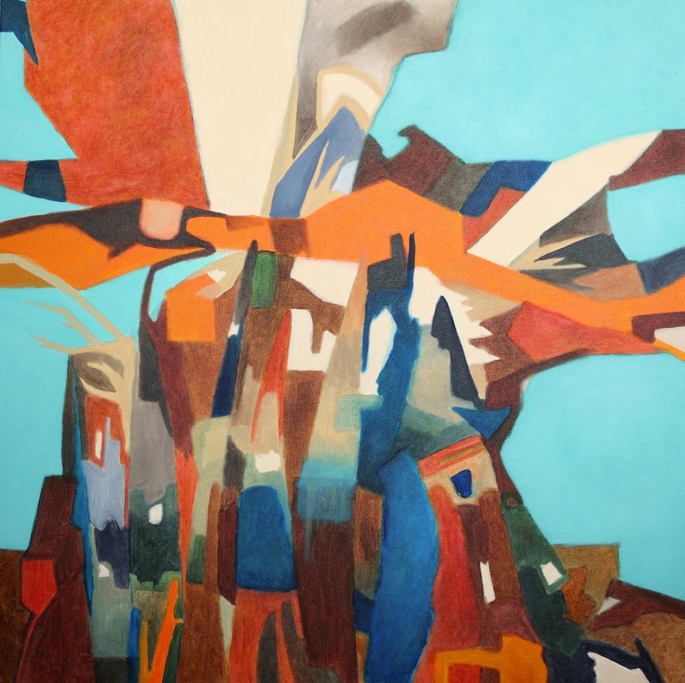 'Face the Breeze'  by Jasmine Farrow