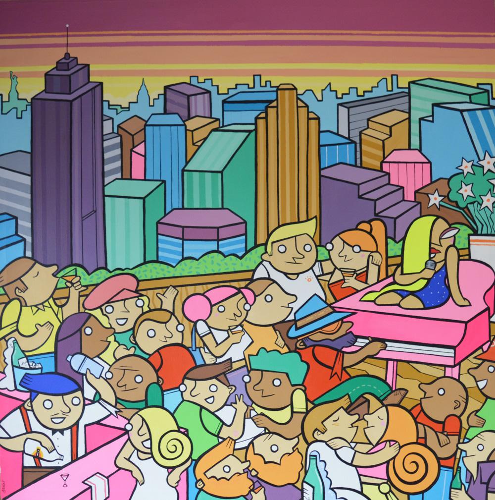 'Tribeca Rooftop Cocktails' by Darren Baxter