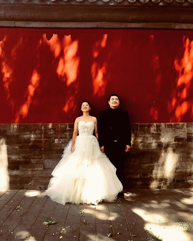 Marriage in Forbidden Town - Beijing, China #andreavaraniphotographer #sonyimages #sonyalpha #marriage #beijing #china #forbiddencity