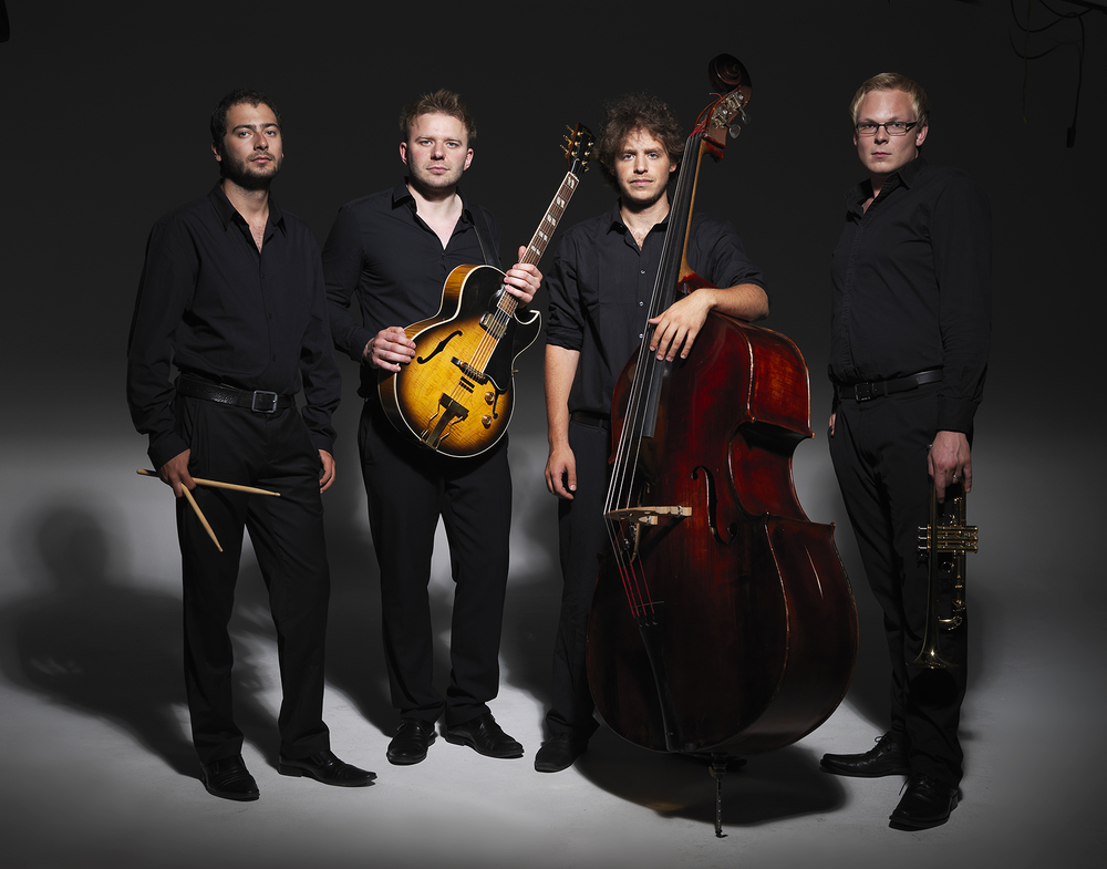 Das Quartett mit vollem Klang