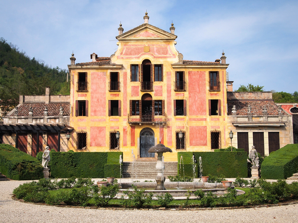 Beautiful Villa Barbarigo in Valsanzibio