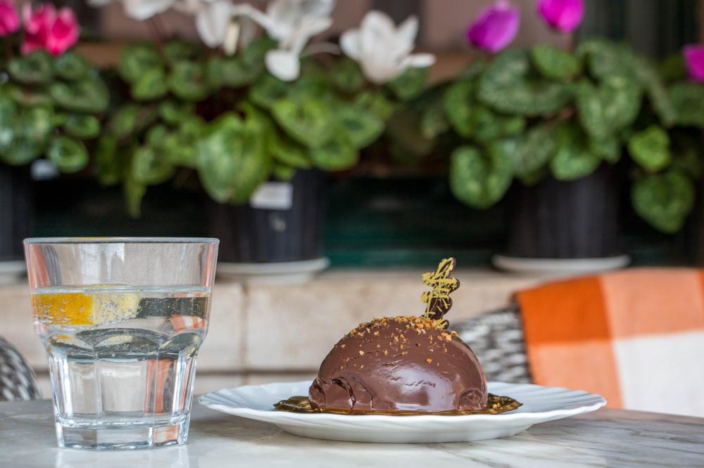 Chocolate-dessert