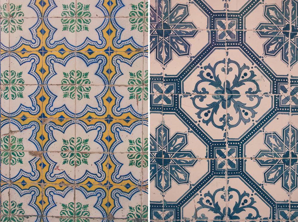 Vintage tiles in Lisbon