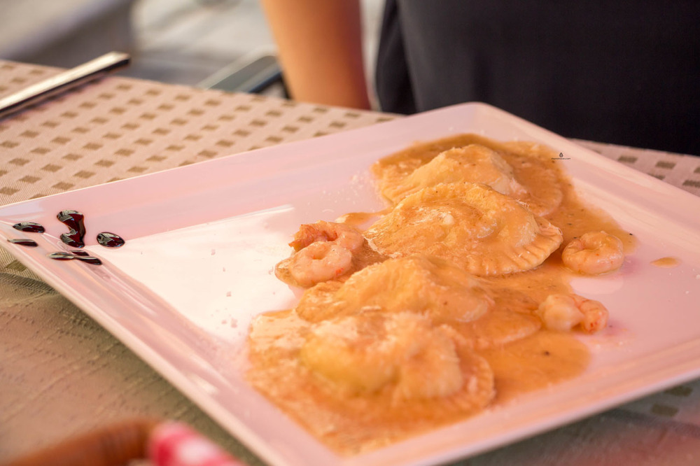 Fish-ravioli