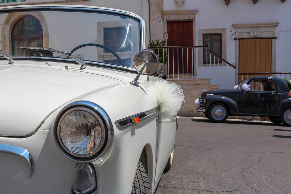 Italian-wedding-car